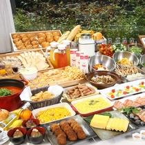 【朝食バイキング】和・洋のバラエティ豊かなメニュー