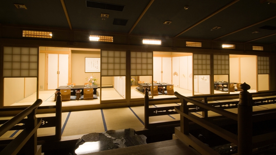 ◆食事処「古扇亭」/風情溢れる数寄屋造りの食事処。