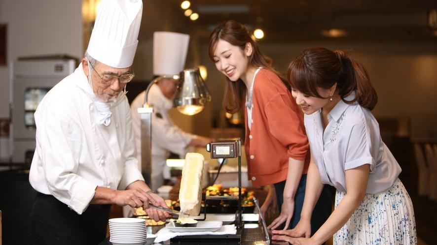 ◆夕食バイキング(イメージ)