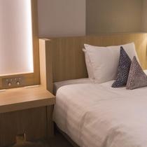 【コンフォートツイン】明るく快適で、機能性も備えた新客室