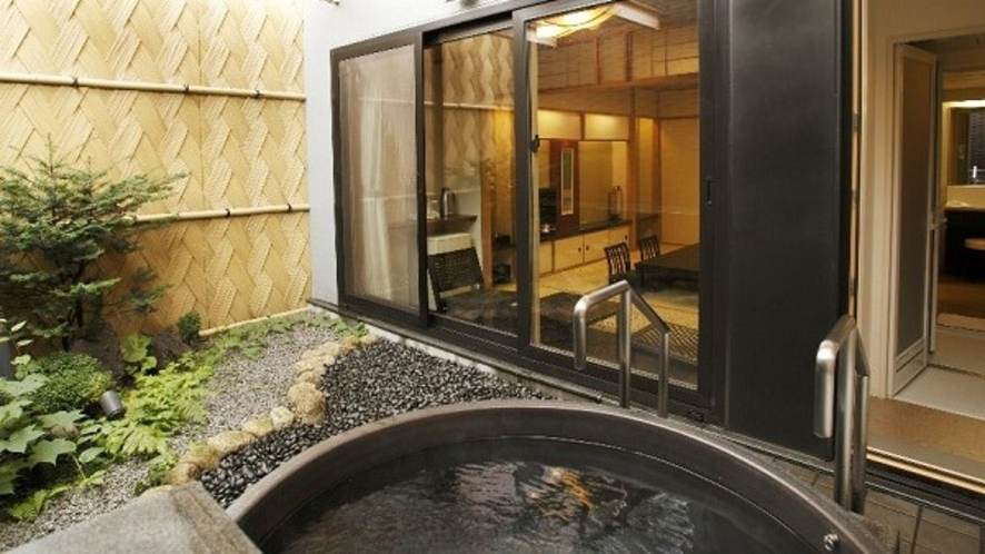 ◆露天風呂付き和室(客室一例)