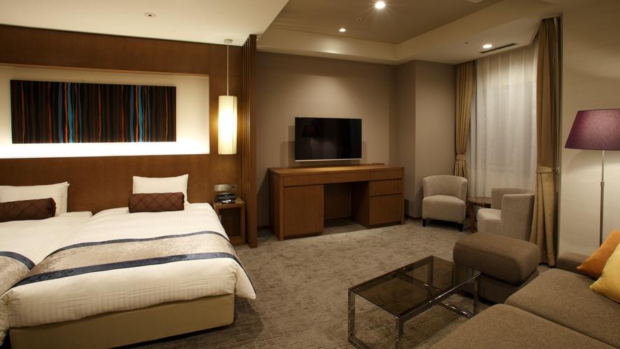 ◆展望風呂付きツイン(客室一例)