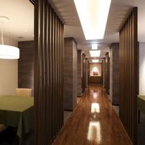 【華扇】7階新洋室のお客様専用に新しく専用ダイニングがオープン