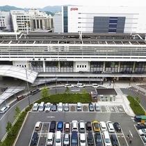 【スタンダードフロア:ツイン、クイーン、トリプル】窓から姫路駅がご覧いただけます