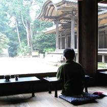 【書写山・円教寺】車で30分。写経体験や座禅体験をすることができます。