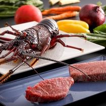 【鉄板焼‐銀杏】選び抜かれた和牛から近海の魚介類まで、選び抜かれた食材が揃う<銀杏コース>