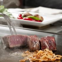 【銀杏】鉄板焼で、いつもよりちょっと豪華なディナーを。