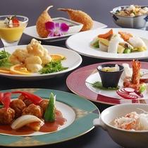 【中国料理‐桃李】<玄武コース>飲茶など、ワンランク上の広東料理を自分好みにチョイス。
