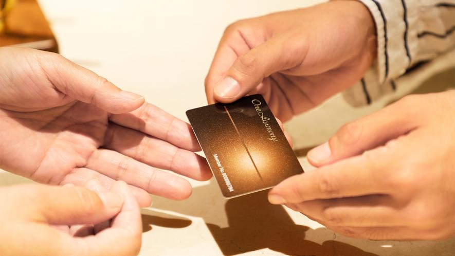入会費・年会費無料で、様々な特典が得られる<One Harmony>ぜひ、ご入会ください。