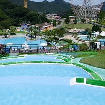 【姫路セントラルパーク】当館から車で30分。夏はプールも営業中!