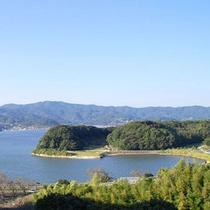 *【景色】当館展望台からの眺め。美しい浜名湖ビューが楽しめます。
