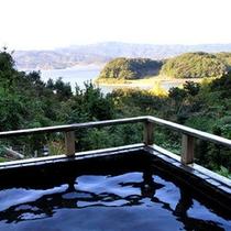 *【露天風呂】(ご婦人用)露天風呂から眺める奥浜名湖の景色は最高です!