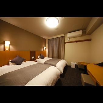 <禁煙ツイン>◆シモンズ社製ベッド2台