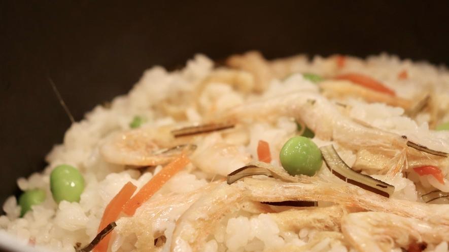 ■ご当地逸品料理「白海老ご飯」(イメージ)