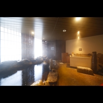 2F 男性天然温泉大浴場 外気浴