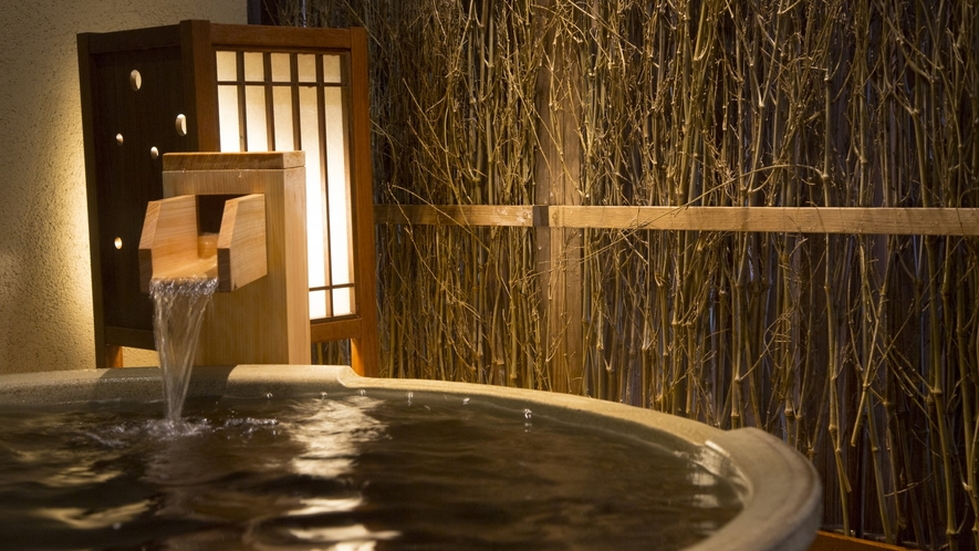 【女性】壺湯(湯温:41℃~42℃)天然温泉♪