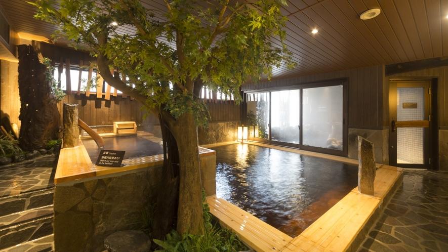 【男性】内風呂(湯温:40℃~41℃)天然温泉♪