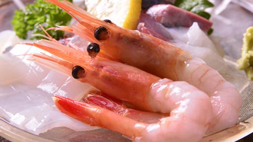 *夕食(お造り)一例/お酒の肴としてもお箸が進む新鮮なお造りをご賞味ください。