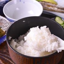 ◎朝食一例(ご飯)/新潟と言えばやっぱりコレ!炊きたてのご飯を沢山召し上がれ♪