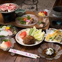 *夕食イメージ(プチグルメプラン)/ホテル丸松オリジナルハンバーグが味わえます♪