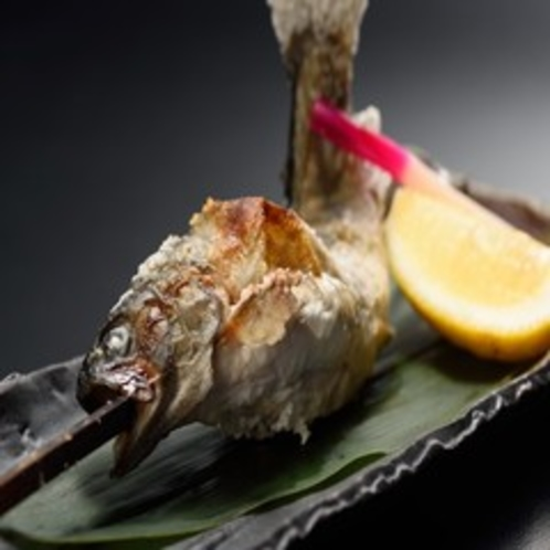 【 料理単品 】 岩魚の塩焼き