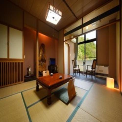 【 本館 和室 8畳タイプ 】どこか懐かしい雰囲気のお部屋