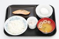 朝食の一例 和食
