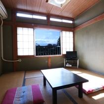 お部屋によって、富士山が眺められます