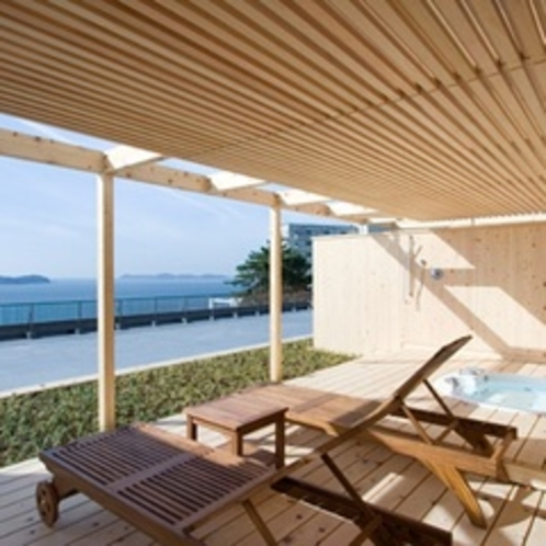【天の海】庭園露天風呂付客室(2間)ジャグジー