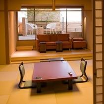 【雲の波】(露天風呂付客室1間)お部屋