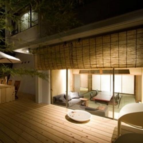 【天の海】庭園露天風呂(ジャグジー)付客室(2間)お部屋