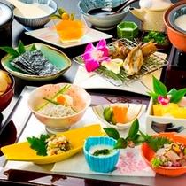 ZEN・乙姫 朝食(和)一例
