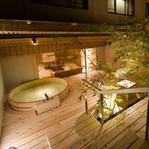 露天風呂付客室(1間)雲の波