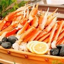 ずわい蟹も食べ放題♪