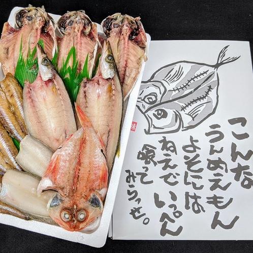 三河蒲郡産干物詰め合わせ(一例)