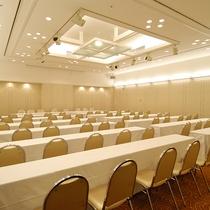 【宴会場】2階「浅間の間」。立食パーティー100名様まで可能です。