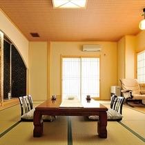 【苔桃】和洋室/2名1室利用時。1名様18,850〜になります。 お部屋には半露天風呂なし