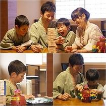 家族旅行☆楽しくゲーム♪