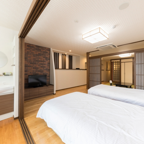 ◆和洋室410号室ベッド