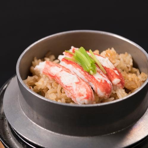 ◆カニ釜飯(一例)