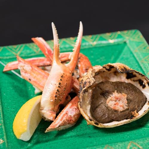 ◆焼きガニ&かに味噌甲羅焼(一例)