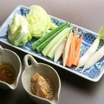 野菜の盛り合わせ(別注料理)
