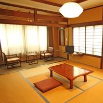 *和室10畳タイプ 一例(バス・トイレ無)/落ちついたシンプルな和室