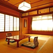 *和室12畳タイプ 一例(トイレ付)/落ちついたシンプルな和室
