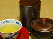 お客室に設置してあるお茶