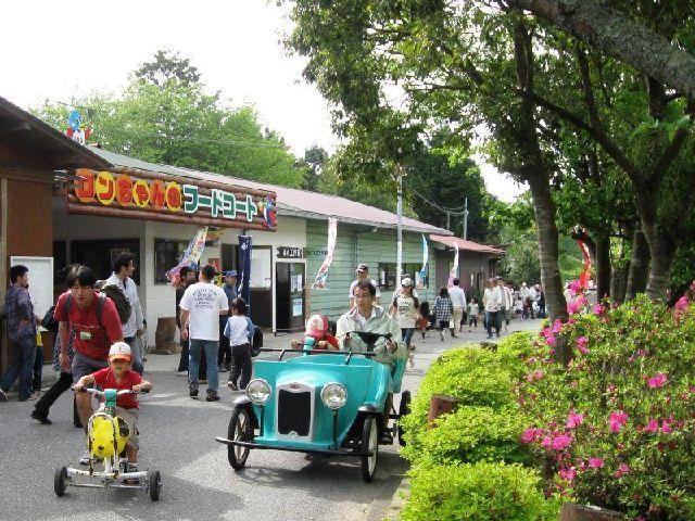 園内オモシロ自転車