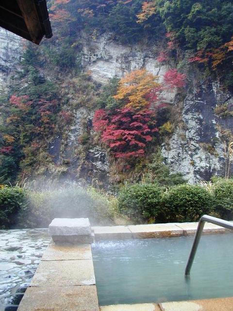 露天風呂「白壁の湯」