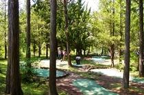園内パターゴルフ