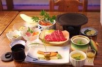 夏季ご夕食の一例