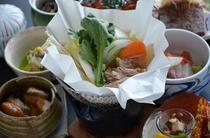 冬季 天草大王地鶏鍋イメージ写真